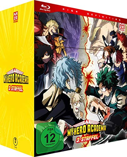 My Hero Academia - Staffel 3 - Vol.1 - [Blu-ray] mit Sammelschuber