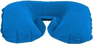 De viaje almohada cervical para la relajación azul