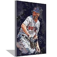野球選手クリスセールキャンバス絵画アートポスターキャンバス壁アート絵画寝室リビングルーム家の装飾野球ファンスタジオ装飾ポスター30x45cm(12x18inch)内枠