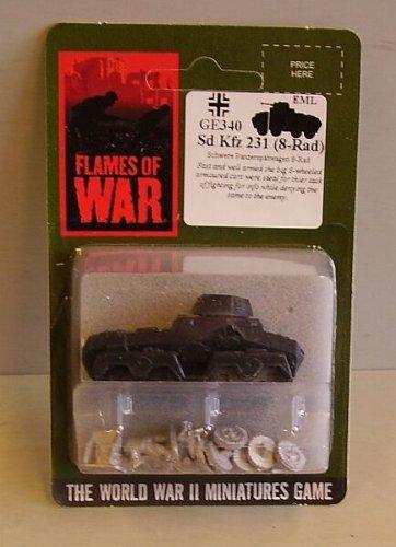 Flames Of War German Sd Kfz 231 (x1) by Flames of War