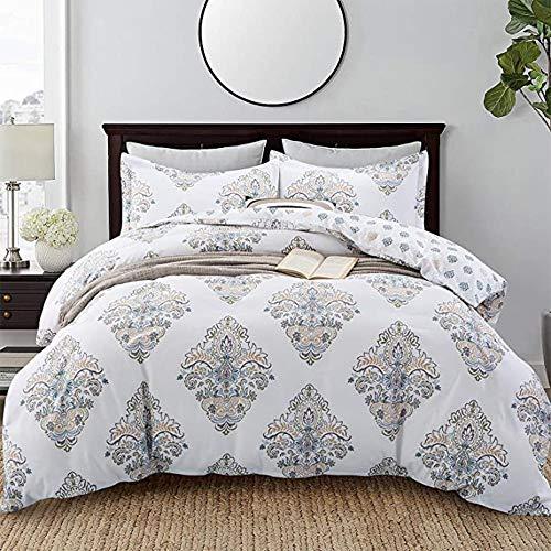 Baumwollbettwäscheset Doppelbettwäsche Baumwolle Vierteiliger Anzug Super Soft Nordic Minimalist Bettwäsche Bettbezug 1 Bettbezug, Bettlaken Und 2 Kissenbezüge