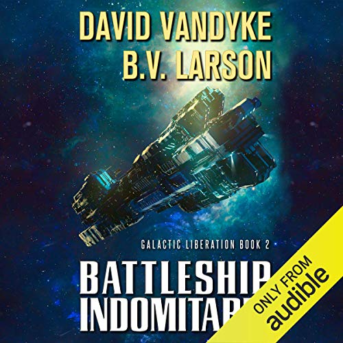 Battleship Indomitable audiobook cover art