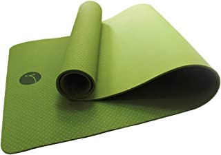 Yogamigi Esterilla ecológica para Yoga, Pilates, Deporte. Material TPE reciclable, Antideslizante. Facil de Limpiar. No tóxico. Ideal para Viajes y Uso Diario por su Peso Ligero. Yoga Mat Color Verde