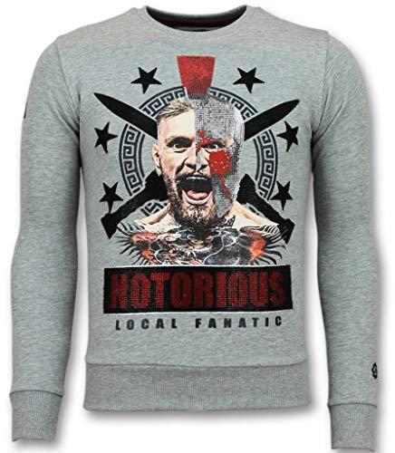 Notorious Trui - Mcgregor Warrior Heren Sweater - Grijs