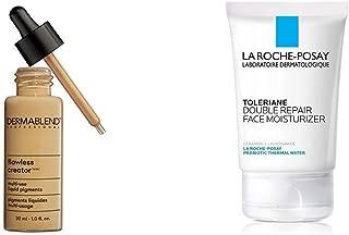 Dermablend Flawless Creator Multi-Use Liquid Foundation, 43W + La Roche-Posay Toleriane Double Repair Face Moisturizer
