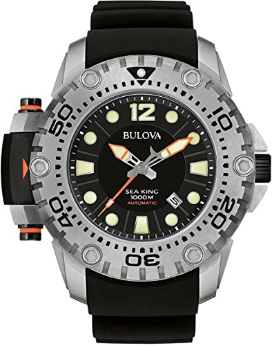 Bulova Men's Sea King Limited - 96B226 White Watch