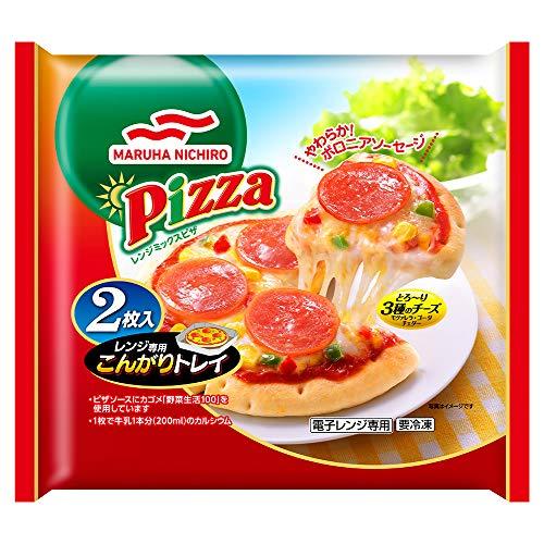 [冷凍]マルハニチロレンジミックスピザ2枚入(234g)×10袋