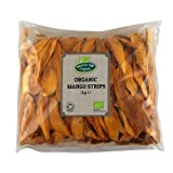 Organic Dried Mango Strips 1kg Hatton Hill Organic - Certified Organic