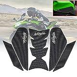 For カワサキニンジャ400ニンジャ40020182019オートバイ燃料タンクトラクションサイドパッドニーパッドデカール保護ステッカー