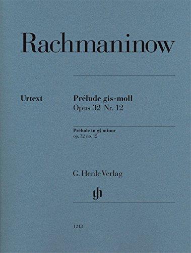 Prélude gis-moll op. 32 Nr. 12 für Klavier zu zwei Händen