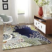 Zora Carpet Export Quality Beautiful Home Decore , Carpet for Living Room, Drawing Room & Bedroom (3 X 5 Feet, Malti)