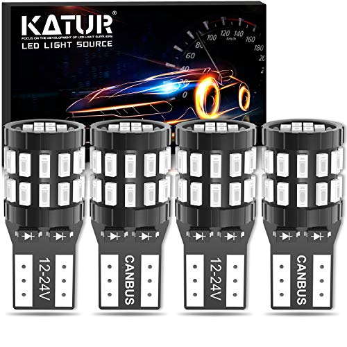 NGCAT LED Bulb License Number Plate Light Lamps CanBus Universally Used Super White Driving Lamp Pack of 2
