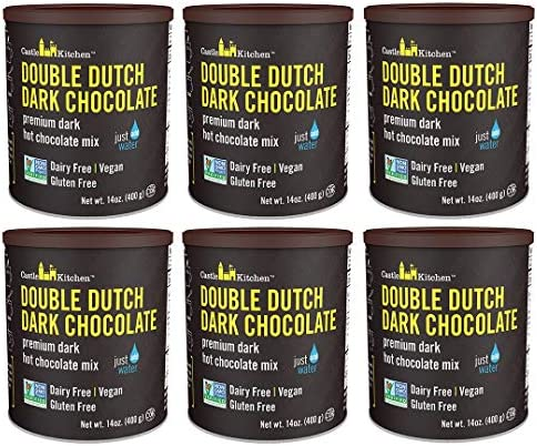 Castle Kitchen Double Dutch Dark Chocolate Premium Hot Cocoa Mix Dairy Free Vegan Plant Based product image