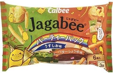 カルビー Jagabeeパーティパック108g