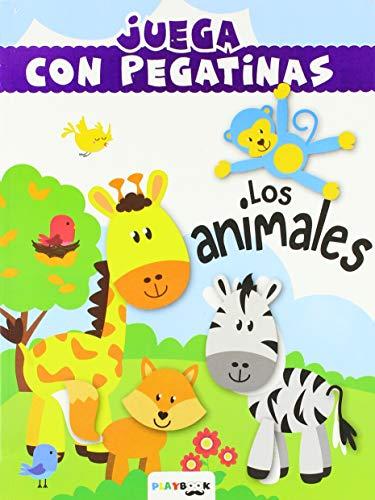 Los animales (Juega con pegatinas)