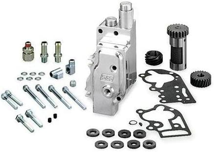 SS Cycle Billet Stock Replacement favorite Davidson SEAL limited product Pump for Harley Oil