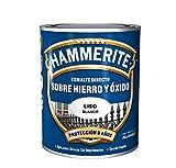 Hammerite Esmalte directo sobre hierro y óxido Liso Brillante Blanco 5 L