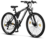 Licorne Bike Effect Premium - Bicicleta de montaña de 29 pulgadas - para niños, niñas, hombres y...