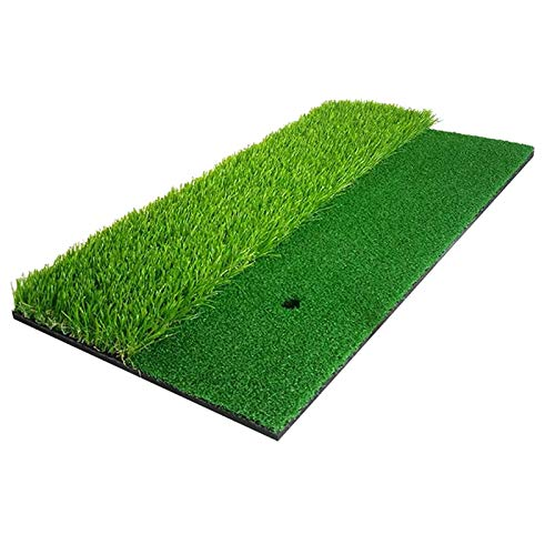 YGLONG Alfombrilla De Golf Estera del Golf para el césped Artificial Hierba Pad Golf Golf Hitting Training Mat para el Columpio de Golf al Aire Libre Interior Mat Golf (Color : Green)