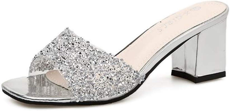 FUN.S Woman Mules shoes Pointed Toe Sandals Belt Buckle Slippers Big Size flip Flops Ladies Sandals Mules