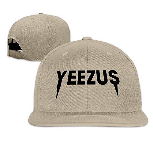 Unisex Cap Fashion Plain Adjustable Yeezus Kanye West Album Snapback Hats Baseball Hat