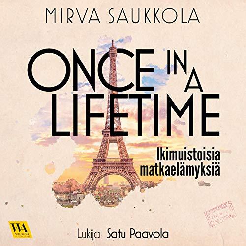 Diseño de la portada del título Once in a Lifetime