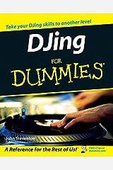 DJing for Dummies Paperback