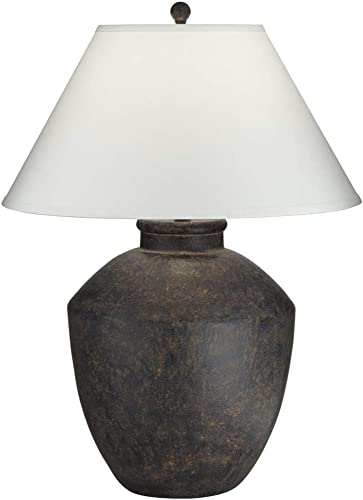 discount Pacific Coast Lighting 64V99 Massa Black Terracota outlet sale 1-Light 150W Table sale Lamp online