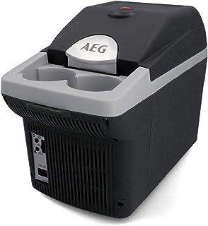 AEG Automotive Board-Bar BK 6 Termoelektrisk kyl- och värmeråda 6 liter, 12 volt för bil och uttag, spänne i bilen