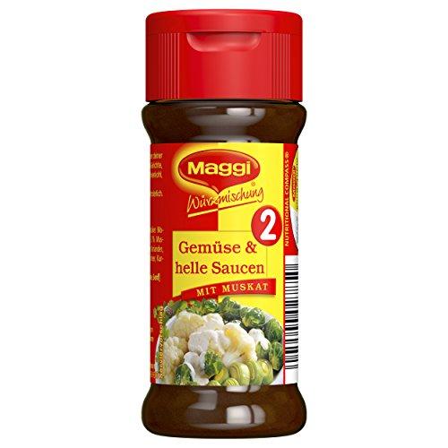 Maggi Würzmischung 2, für Gemüse und helle Saucen, 78 g Streuer