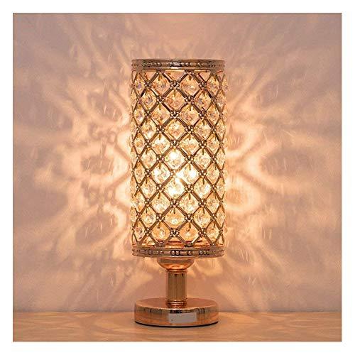 SHENMU Cristallo Comodino Lampada for camere da Letto, in Camera Lliving, Lounge (Lampadina del LED Non Inclusa)