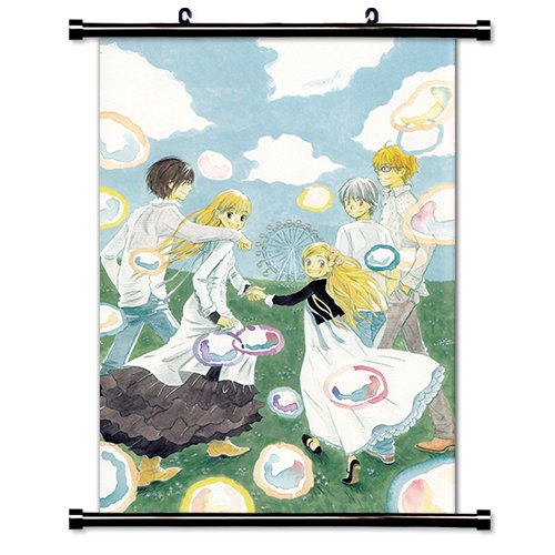 Honey and Clover Anime Fabric Wall Scroll Poster (16' x 23') Inches. [WP]-Honey and Clover-60