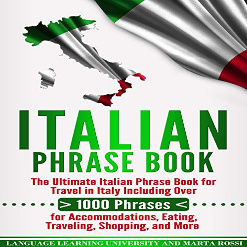 Italian Phrase Book  By  cover art