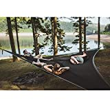 HOUYE 2021 Giant Aerial Camping Hammock Multi Person Portable Hammock 3-Point Design Adjustable Fixing Rope Sky Tent,Itable for Camping, Backpacking, Travel, Beach, Backyard, Terrace, Garden