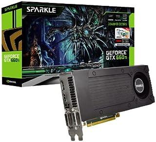 Sparkle NVIDIA GeForce GTX660Ti グラフィックカード (2GB GDDR5 192ビット PCI-Express 3.0 HDMI 2x DVI ディスプレイポート NVIDIA 3Dビジョン対応)
