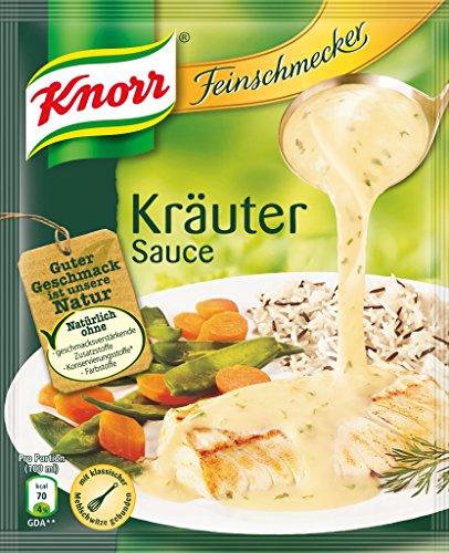 Knorr Feinschmecker Kräuter Soße, 1er-Pack (1 x 250 ml)