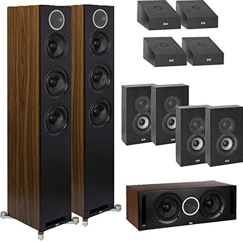 Why Should You Buy ELAC Dolby Atmos Reference DFR52 11.0 Home Theater System with On-Wall Surrounds ...
