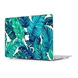 Funda Dura para MacBook Pro 15 Pulgadas con Pantalla Retina Modelo A1398 - L2W portátiles Accesorios de plástico Hoja de Palma translúcida Mate Diseño Rígida Carcasa