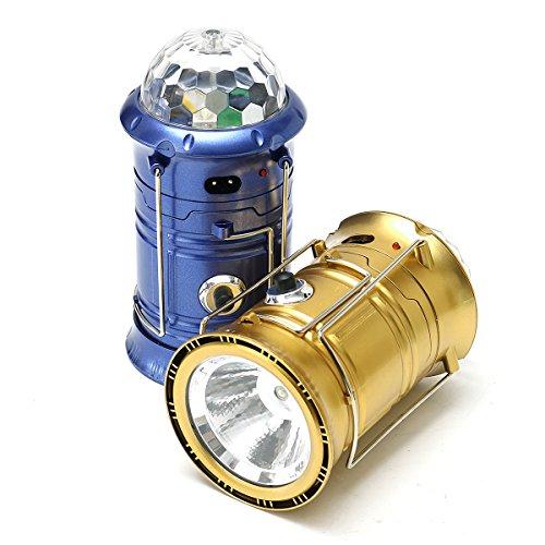 MASUNNMultifonction USB Super Bright Scène Lumières LED Camping Extérieur Lampe De Secours (Accessoires De Lampe De Poche)-Bleu