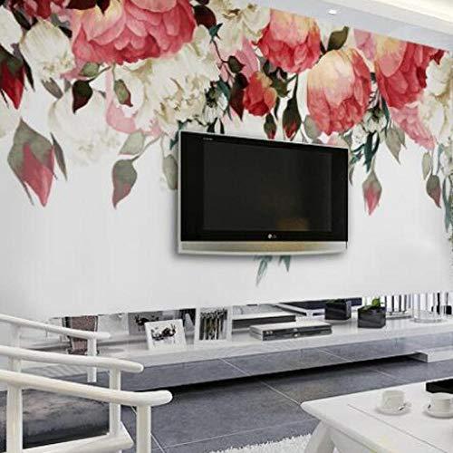 3D Natuur Wallpapers Fotomuurschildering, Muur voor Woonkamer Slaapkamer Bloemenmuurschilderingen, Designer Goedkope Behang 280 cm (B) x 180 cm (H)