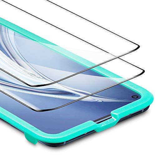 ESR Protector de Pantalla para Xiaomi Mi 10/Mi 10 Pro [Cobertura Pantalla Completa][2 Unidades] 2.5D Cristal Templado Screen Protector Compatible con Xiaomi Mi 10/10 Pro (2020)