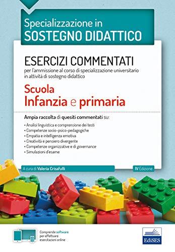 Specializzazione in Sostegno Didattico - Esercizi commentati: Scuola Infanzia e Primaria