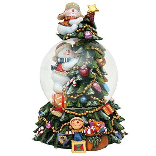 Magiche statuine per albero di Natale con suono,22,9cm Schneemänner