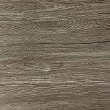 Klebefolie in dunkler Holz-Optik [200 x 67,5cm] I Selbstklebende Folie für Möbel Küche & Deko I Blickdichte Selbstklebefolie hitzebeständig & abwaschbar I 3D Holz-Maserung Dekor...