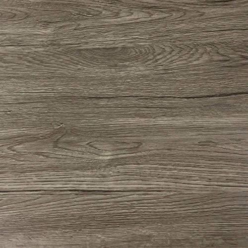 Klebefolie in dunkler Holz-Optik [200 x 67,5cm] I Selbstklebende Folie für Möbel Küche & Deko I Blickdichte Selbstklebefolie hitzebeständig & abwaschbar I 3D Holz-Maserung Dekor