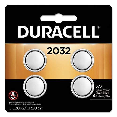 Duracell - Lithium Medical Battery, 3V, 2032, 4/Pk DL2032B4PK (DMi PK