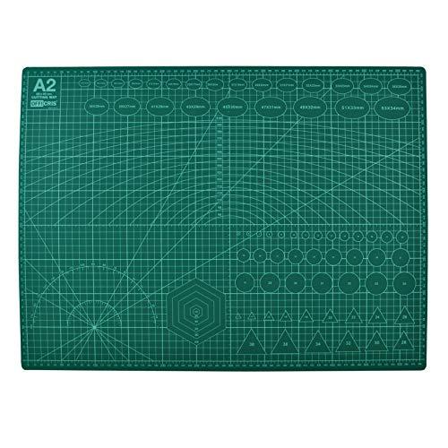 Criscolor Tabla de Corte A2, Verde (13816)