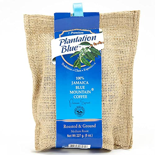 Jamaica Blue Mountain Coffee Ground (8oz)