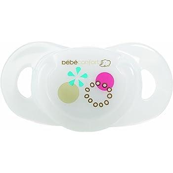 B/éb/é Confort Maternity Dental Safe Set de 2 Sucettes en Silicone 18-36 mois Bleu