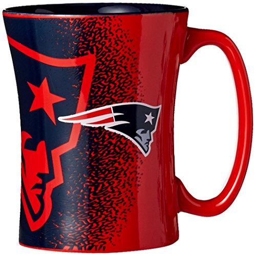 NFL New England Patriots Mocha Mug, 14-ounce, Red